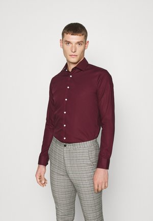 MODERN KENT X SLIM - Formal shirt - bordeaux