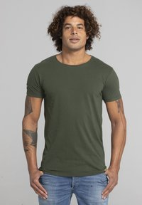 Liger - Basic T-shirt - military green - 0