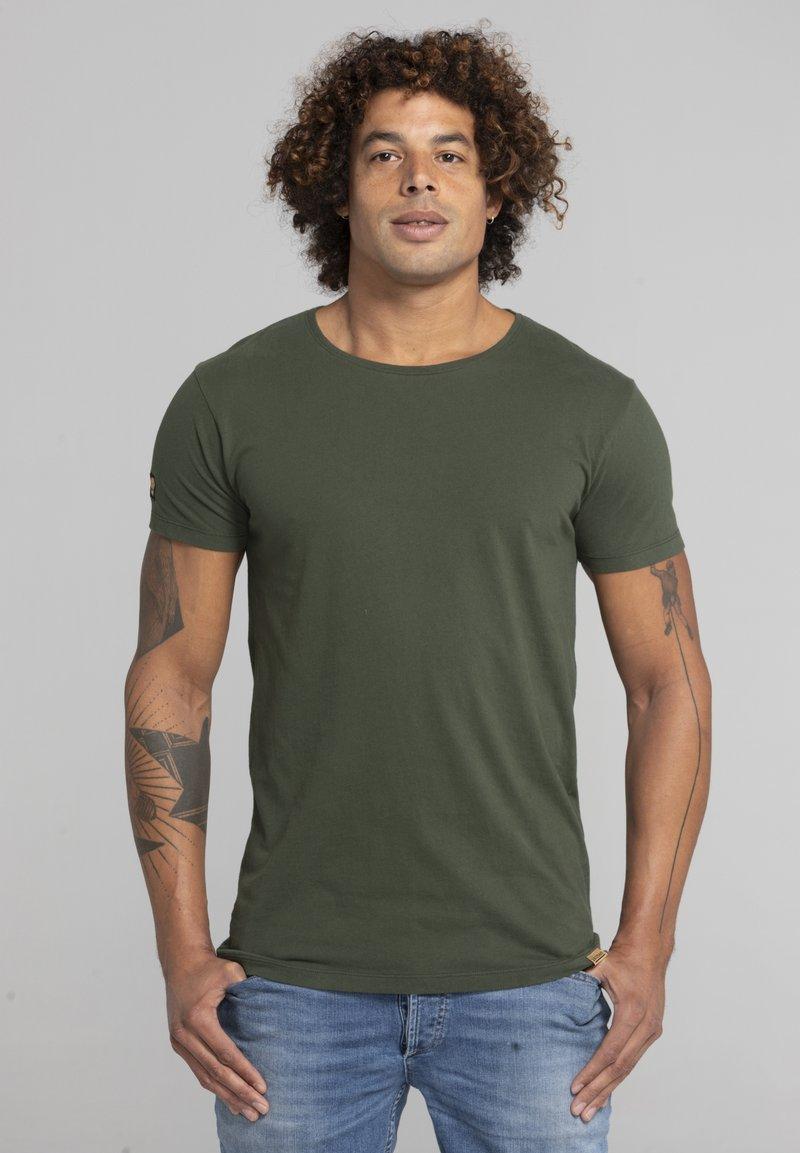 Liger - Basic T-shirt - military green