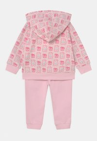 Guess - HODDED ACTIVE SET UNISEX - Tracksuit - pink - 1