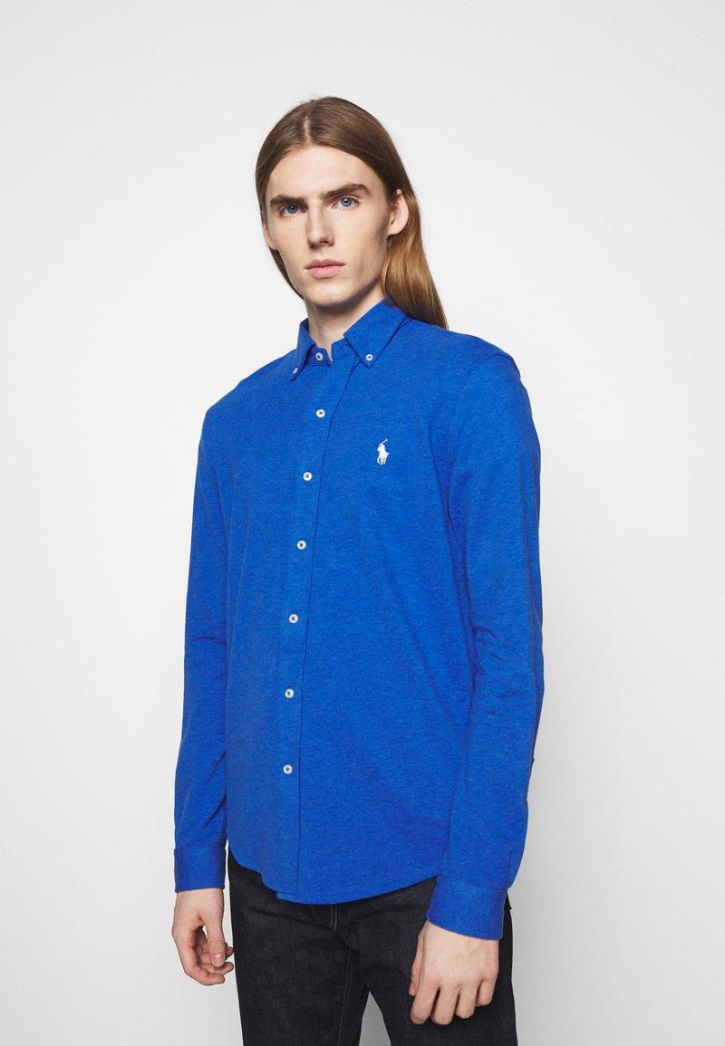 Polo Ralph Lauren - FEATHERWEIGHT MESH SHIRT - Chemise - dockside blue