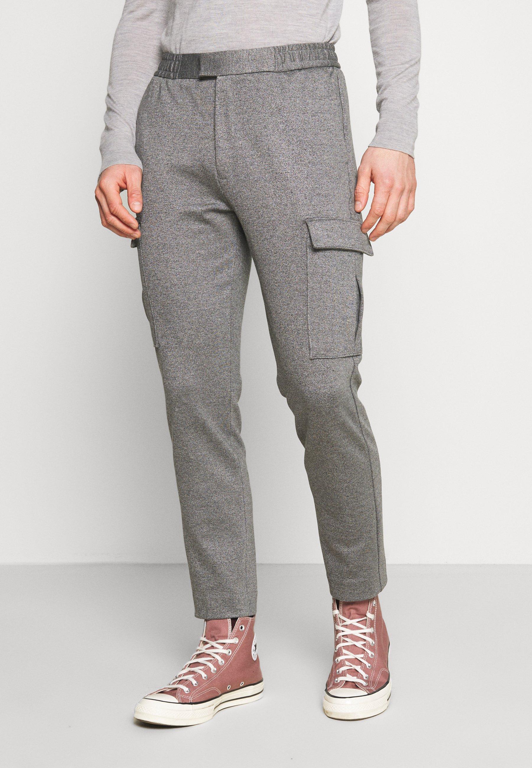 Homme PONTE - Pantalon cargo