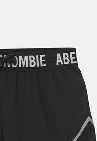 Abercrombie & Fitch - Kraťasy - black - 2