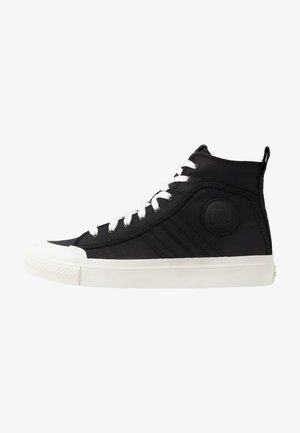 ASTICO S-ASTICO MID LACE - Sneakers high - black/white