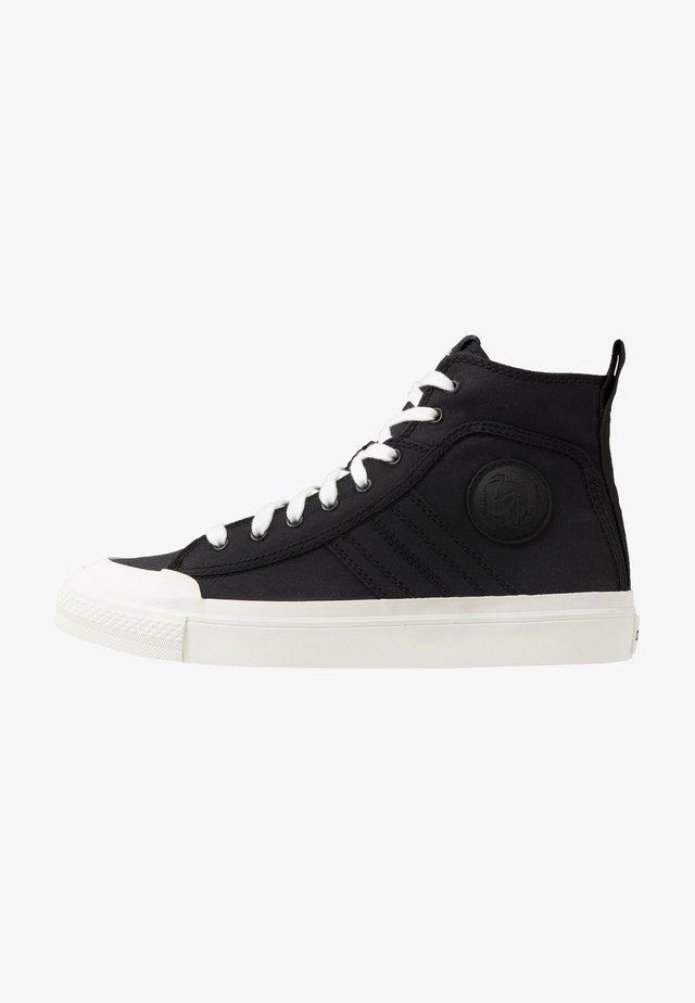 ASTICO S-ASTICO MID LACE - Sneakersy wysokie - black/white