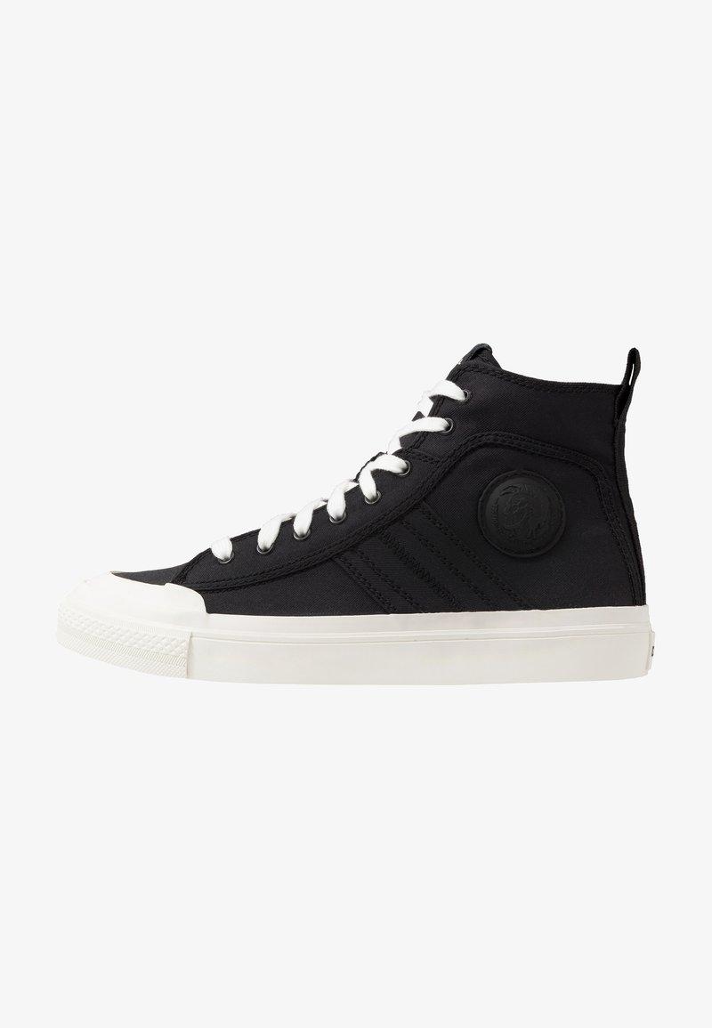 Diesel - ASTICO S-ASTICO MID LACE - Sneakers alte - black/white