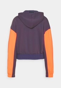 Nike Sportswear - HOODIE - Sweatshirt - dark raisin/crimson bliss/bright mango - 8