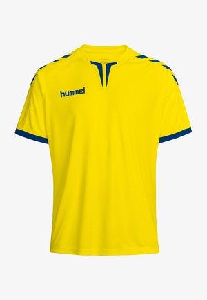 CORE - T-shirt de sport - sports yellow/true blue