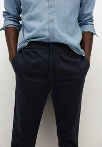 Mango - MATEO - Trousers - dunkles marineblau - 3