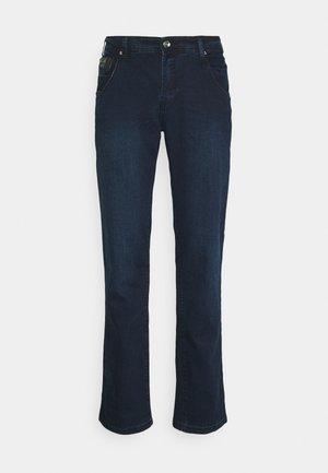 CHAPMAN REGULAR - Džíny Straight Fit - blue black