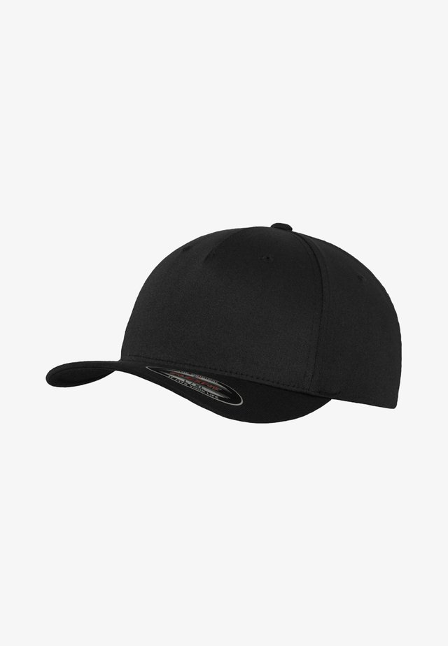 5 PANEL - Casquette - black