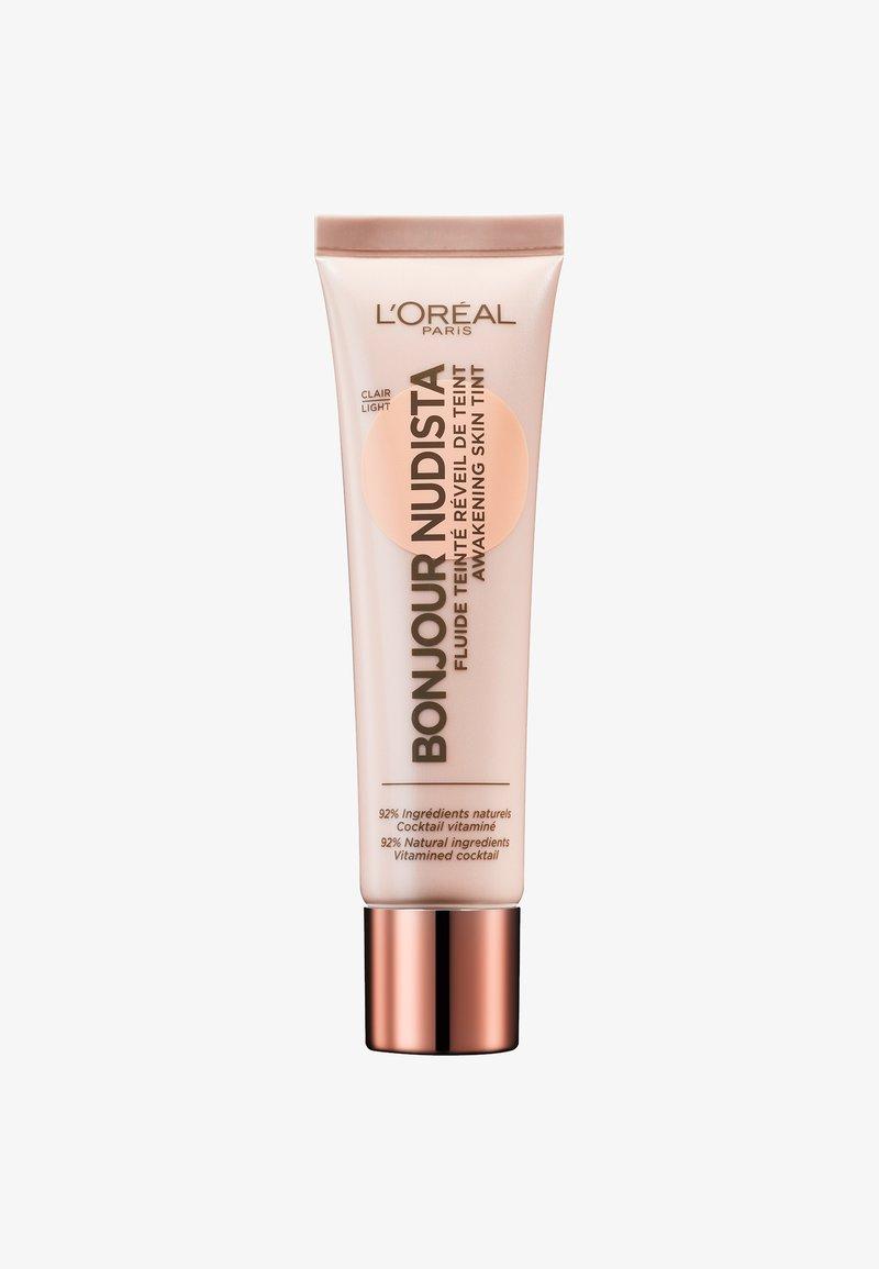 L'Oréal Paris - BONJOUR NUDISTA AWAKENING SKIN - BB cream - light