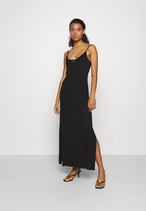 Basic Strappy Maxikleid - Maxikjole - black