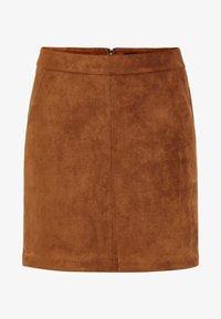 Vero Moda - VMDONNA DINA - Pencil skirt - cognac - 4