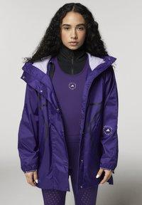 adidas by Stella McCartney - ADIDAS BY STELLA MCCARTNEY TRUEPACE RUN JACKET WIND.R - Training jacket - purple - 0