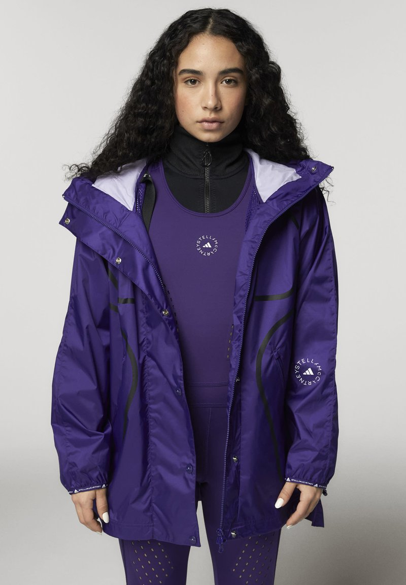 adidas by Stella McCartney - ADIDAS BY STELLA MCCARTNEY TRUEPACE RUN JACKET WIND.R - Training jacket - purple