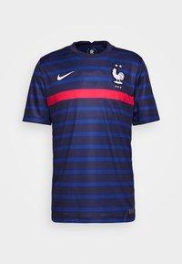 FRANKREICH FFF HOME - National team wear - blackened blue/white