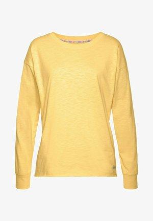 Maglietta a manica lunga - gelb