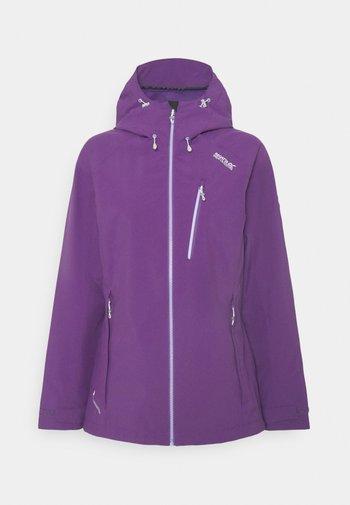 WOMENS BIRCHDALE - Hardshell jacket - lilac