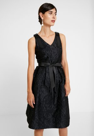 DRESS WITH BOW - Cocktail dress / Party dress - black