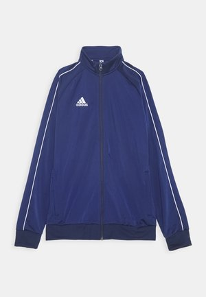 CORE 18 FOOTBALL TRACKSUIT JACKET - Sportovní bunda - dark blue/white