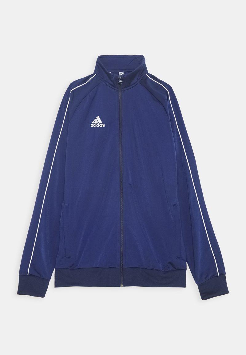 adidas Performance - CORE 18 FOOTBALL TRACKSUIT JACKET - Verryttelytakki - dark blue/white