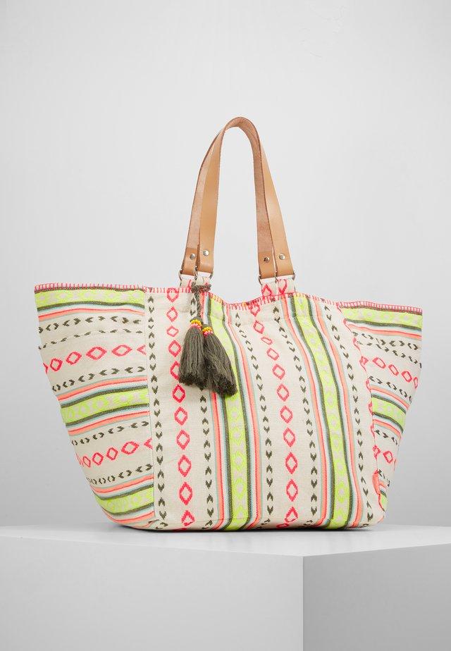 GIRLS TRIBAL STRIPE BEACH BAG - Shopping bags - multi