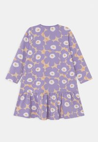 Marimekko - KULTARINTA MINI - Jersey dress - light yellowish/lavender - 1