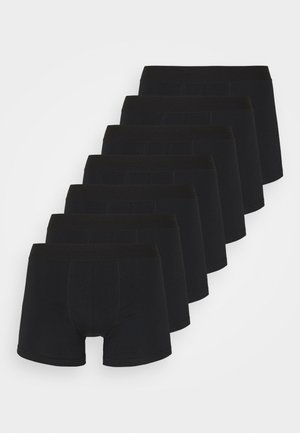 TRUNKS 7 PACK - Panties - black