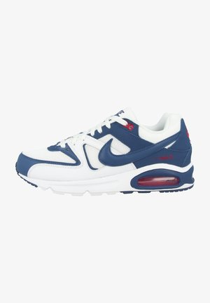 AIR MAX COMMAND - Sneakers laag - white-mystic navy-cardinal red