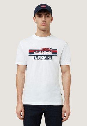 SIKAR - T-shirts print - white