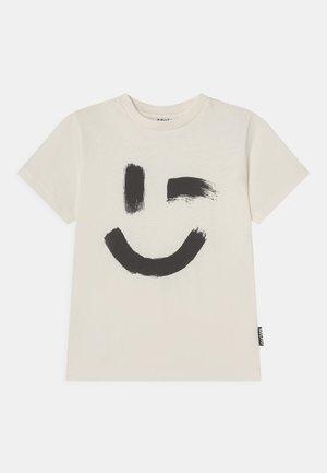 ROXO UNISEX - T-shirt imprimé - white