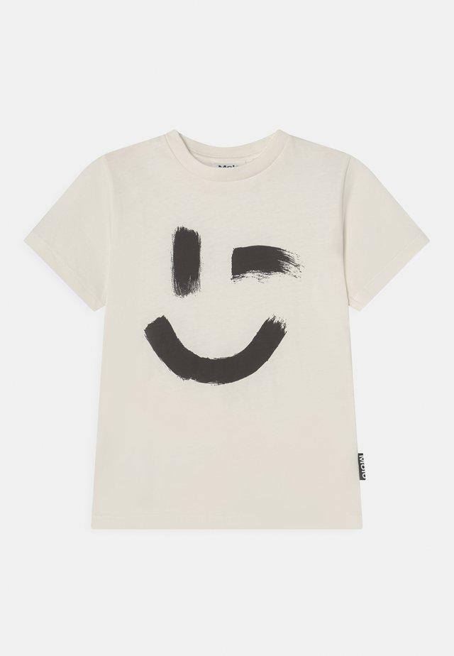 ROXO UNISEX - Print T-shirt - white