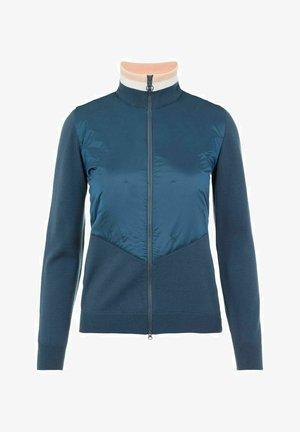 LUNA HYBRID - Zip-up sweatshirt - captain's blue