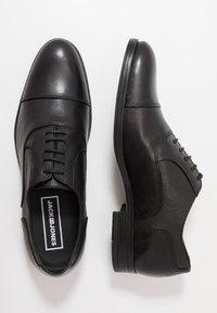 Jack & Jones - JFWDONALD - Zapatos con cordones - anthracite - 1