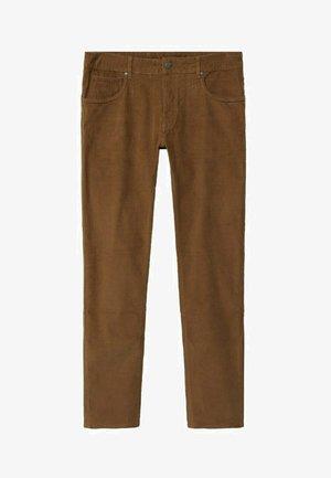 Pantalon classique - tobacco-braun