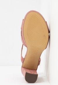 New Look - SANDIEGO - Korolliset sandaalit - light pink - 6