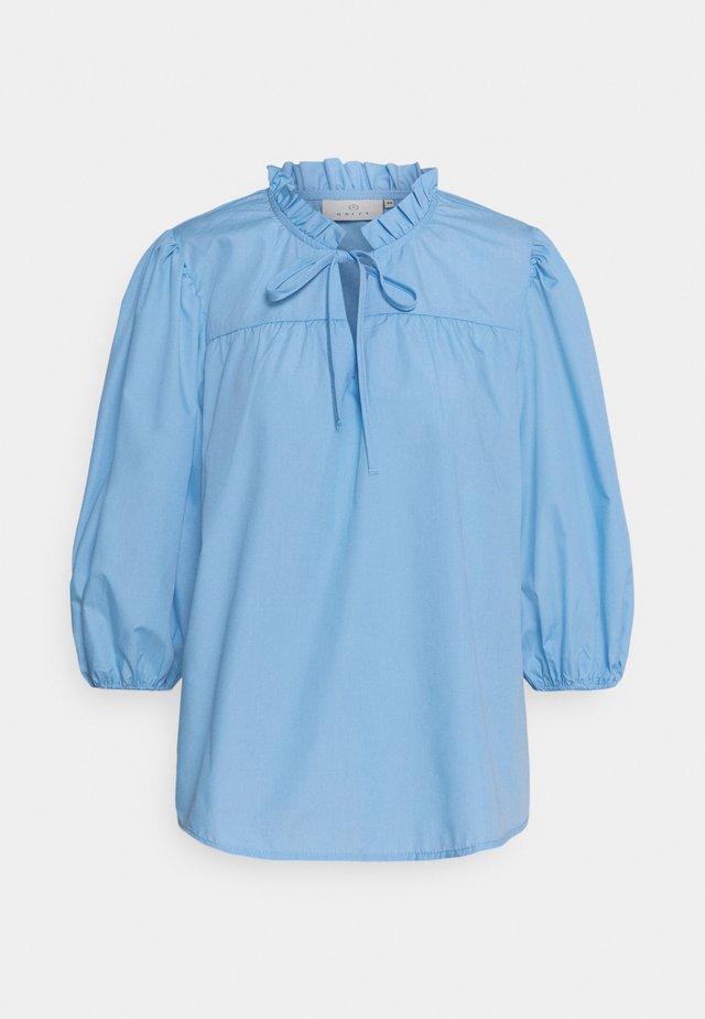 LORA BLOUSE - Blouse - chambray blue