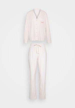 MASCULINE OPTIMISTE LONG STRIPES - Pyjamas - pink