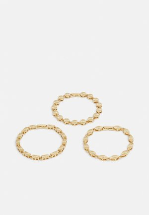 PCBLISS BRACELET 3 PACK - Bracelet - gold-coloured