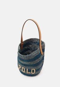 Polo Ralph Lauren - STRIPES BUCKET - Kabelka - blue/multi - 3
