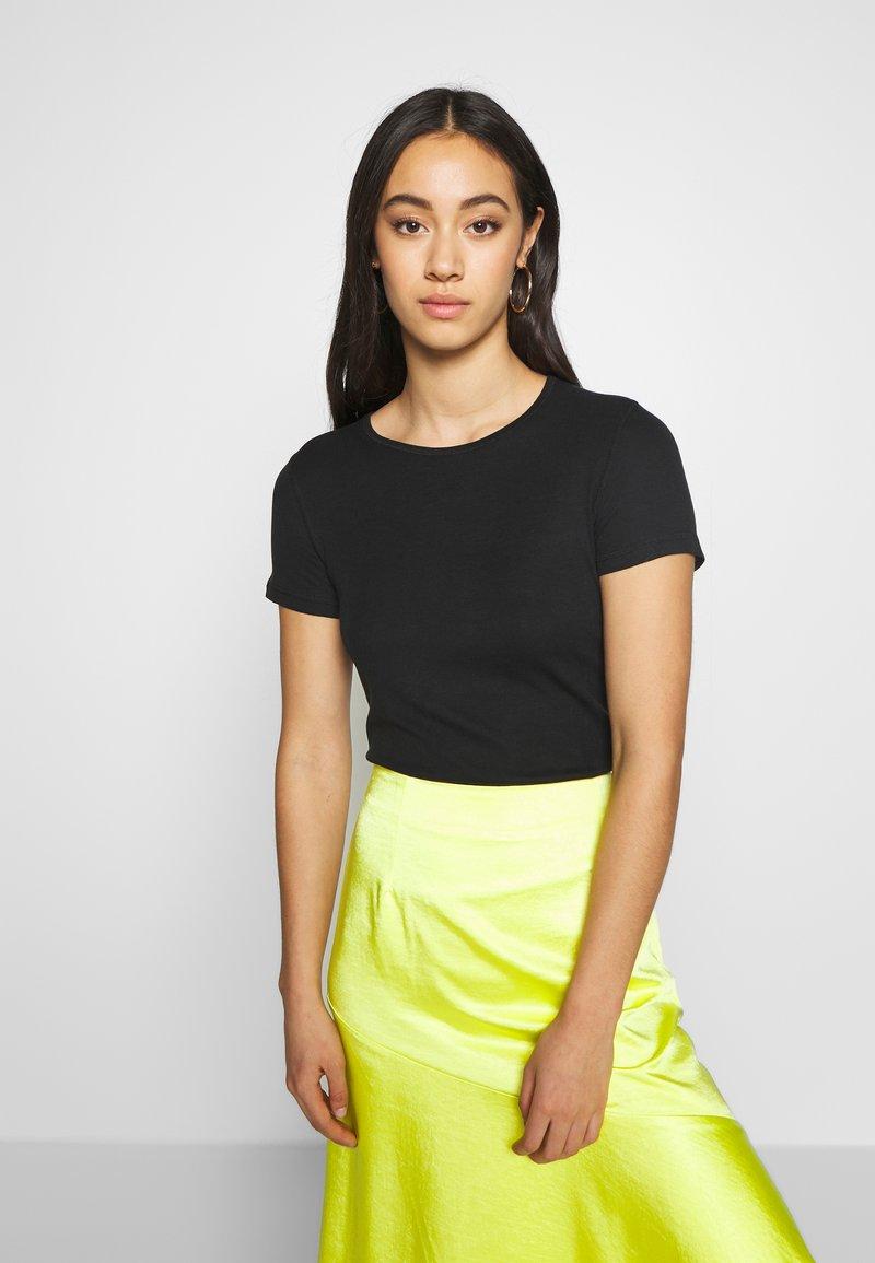 Weekday - TERESA - T-shirts - black