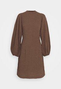 Samsøe Samsøe - HARRIETTA SHORT DRESS - Day dress - argan - 0