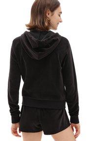 Vans - WM TOGETHER FOREVER HOODIE - Zip-up hoodie - black - 1