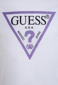 Guess - Camiseta de manga larga - true white - 2