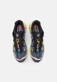Salomon - XT-6 ADV UNISEX - Sneakers basse - india ink/lunar rock/maverick - 3
