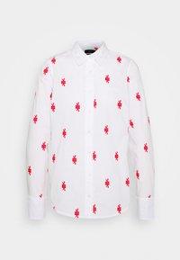 J.CREW - PERFECT KNOTS - Button-down blouse - white - 5