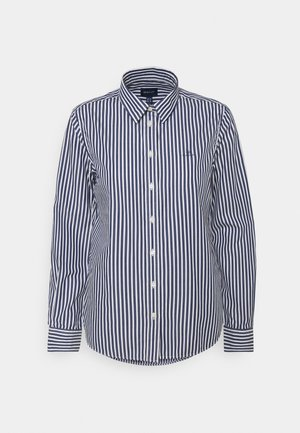 THE BROADCLOTH STRIPED SHIRT - Bluser - persian blue