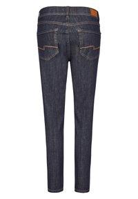 Angels - MIT MODISCHEM CRINKLE-EFFEKT - Slim fit jeans - dunkelblau - 1