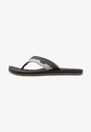 ALL DAY IMPACT - T-bar sandals - charcoal
